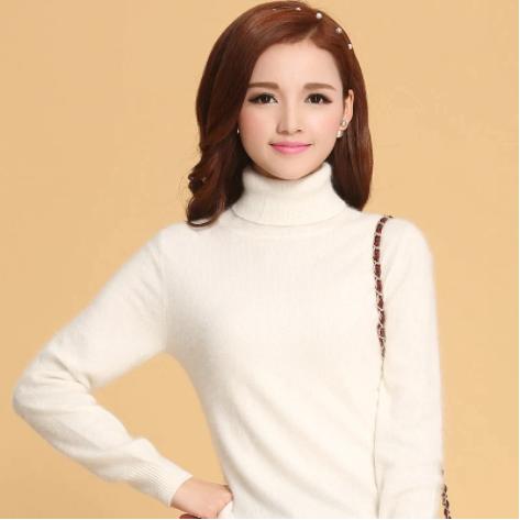 Mena-sheep Turtleneck Cashmere Sweaters