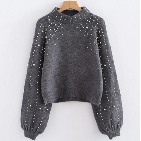Sexy Knitted Casual Pullover