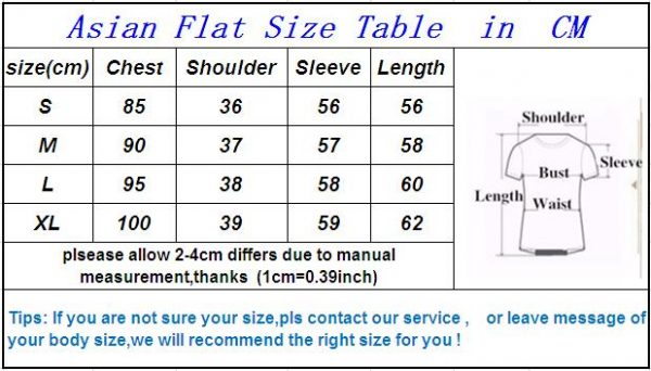 Cashmere Swearter Size Chart - Exquisite Furs