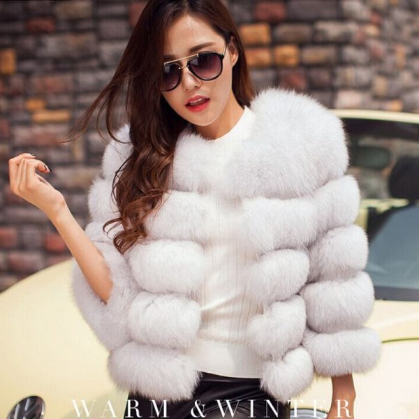 Zadorin Warm Winter Fur Coat