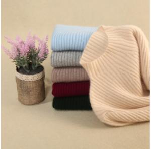 Women high collar sweater