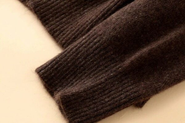 Merino Wool Cashmere Sweaters Cuff Sample