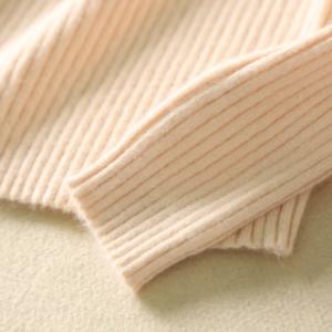 High Collar Sweater cuffs