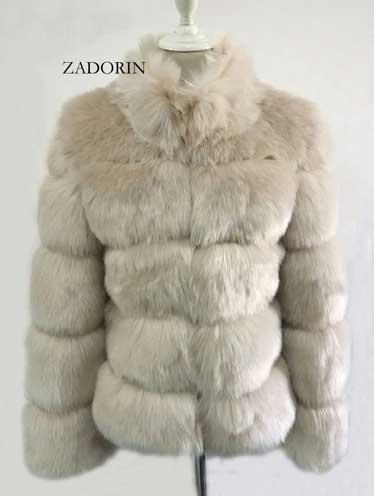 Fur Winter Coat-Khaki