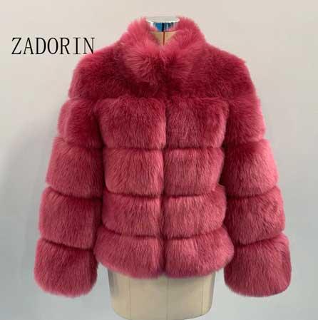 Fox Red Fur Coat For Women