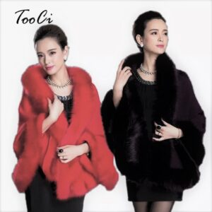 Red and Black Ponchos